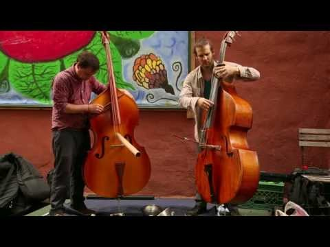 PascAli (Pascal Niggenkemper & Sean Ali) - In Gardens - Arts For Art, NYC - Sep 21 2014 online metal music video by PASCAL NIGGENKEMPER