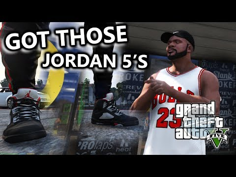 bef116df9a5a1 Download GOT SOME JORDAN V RETROS AND SOME GUCCI JOGGERS! - GTA 5 Real Life  Mods  8 MP3