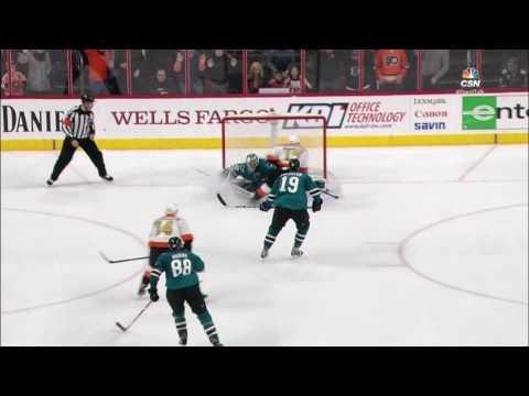 Video: Simmonds steals, dekes and scores OT winner