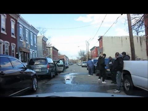 NORTH PHILADELPHIA SLUMS (видео)
