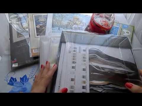 Вышивка крестом - Волки ХАЕД. Организация вышивки, процесс. органайзеры, парковка, стежкоукладчик
