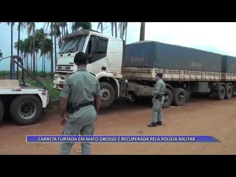 JATAÍ | Carreta furtada em Mato Grosso é recuperada pela PM