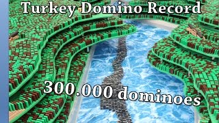 Video Turkish Domino Record 2016 - 300.000 dominoes MP3, 3GP, MP4, WEBM, AVI, FLV Agustus 2018