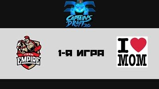 Empire vs Mamas Boys, game 1