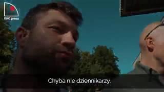 Kaczynski w Dygowie i jego 10 ochroniarzy!