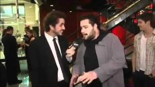 """Felipe Andreoli na estreia do musical  """"New York, New York"""""""