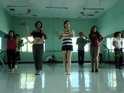 [clip] xem lén Minh Hằng tập luyện vũ đạo ra sao?