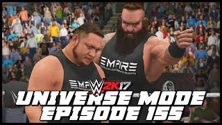 In which it's The Shield vs EMPIRE !Check out our 'MOAJ Village' T Shirt here: https://everpress.com/gore-and-perkins (Everyone who purchases a t-shirt and has a PS4, will receive a match for their CAW in Universe Mode!)For anyone curious as to how we record gameplay, you can purchase an Elgato at the following link: https://goo.gl/GQAFkYG&P Twitter : https://twitter.com/GoreAndPerkinsGore Twitter : https://twitter.com/jamesmgorePerkins Twitter : https://twitter.com/James_A_PerkinsGore Channel: https://www.youtube.com/user/JMG519Perkins Channel: https://www.youtube.com/user/TheMightyPerkins