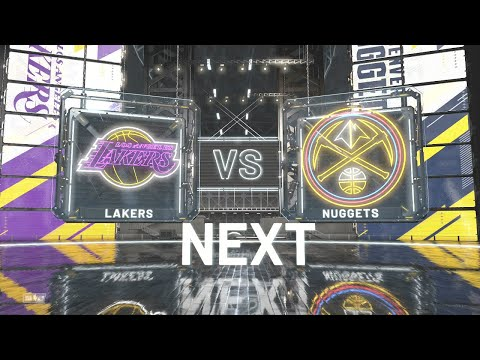 NBA 2K20 - Los Angeles Lakers Vs Denver Nuggets PS4 Gameplay Hall Of Fame