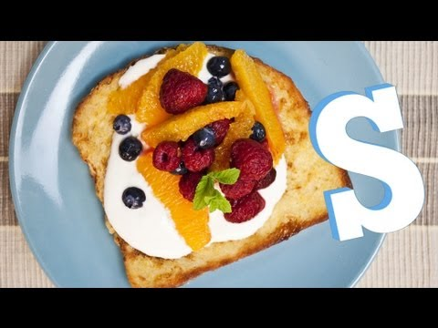 French Breakfast: Delicious and Healthy Orange, Blueberry and Raspberry French Toast