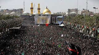 Hundreds of thousands of Shiite pilgrims converged on the holy Iraqi city of Karbala to celebrate Ashoura. It marks the 7th-century death of the Prophet ...