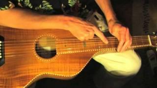 "Lesson Lap Slide Guitar - Free Tab - Part 3/5 ""Blues On My Lap"""