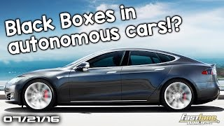 Black Boxes in Autonomous Cars, Aston Martin AM-RB to spawn New Supercar - Fast Lane Daily by Fast Lane Daily