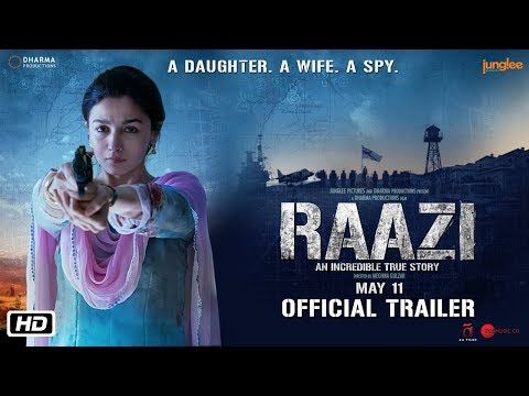RAAZI FIRST LOOK TEASER (2018)
