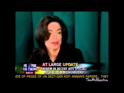 "Michael Jackson Responds To Eminem's ""Just Lose It"" Enhanced HD"