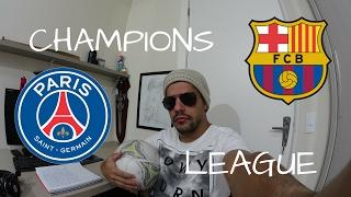 Análises Pré -Jogo - PSG x Barcelona - Champions League 1º Jogo Oitavas, cup c1,cup c1 chau au,video cup c1,barcelona