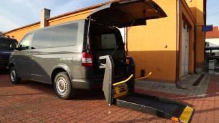 Plošina SKY 003 + el. dveře ve voze VW Transporter