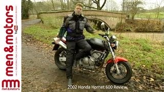 8. 2002 Honda Hornet 600 Review