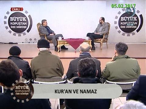 Kur'an ve Namaz – Tuncer NAMLI – Büyük Kopuştan Öze Dönüşe – Hilal TV