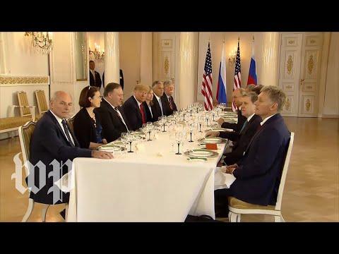 Trump: Summit with Putin is off to 'very good start'