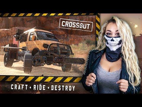 Обзор на Crossout - Я уже говорил тебе, что такое безумие?