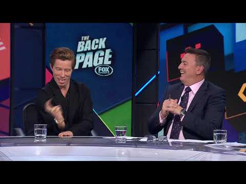 Shaun White - LIVE in the Backpage Studio (видео)