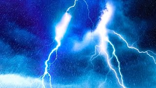 Video EPIC THUNDER & RAIN | Rainstorm Sounds For Relaxing, Focus or Sleep | White Noise 10 Hours MP3, 3GP, MP4, WEBM, AVI, FLV Juni 2018