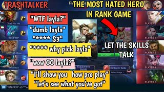 Video TRASHTALKER IN RANK | I'LL SHOW YOU HOW PRO PLAY | TEAM 🤐🤐🤐 | MOBILE LEGENDS MP3, 3GP, MP4, WEBM, AVI, FLV Januari 2019