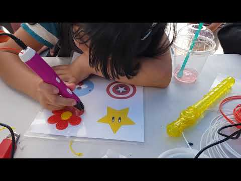포디믹스_3d프린팅, 3d펜 어린이날 행사