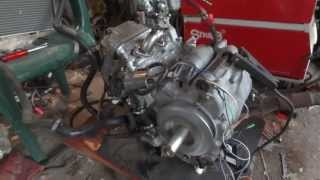 8. First test of the Silver Wing 600 engine with carburetor and simple DC CDI