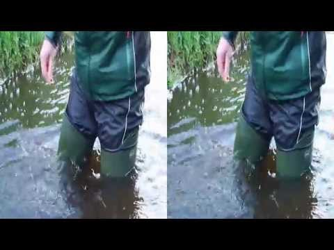 First Waders Flooding in 3D on YouTube
