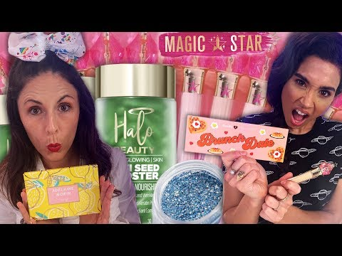 Trying YouTubers' Makeup & Beauty Products! (Beauty Break)