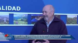 COBERTURA ESPECIAL DE CANAL 2: FABRICIO DIAZ FIRMO CONVENIO DE HERMANAMIENTO CON PUEBLOS CORDOBESES