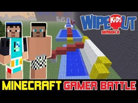 MINECRAFT WIPEOUT - Kids Game Battle (S2-E7)