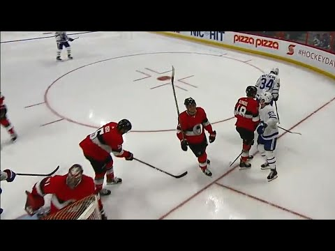 Video: Hyman and Matthews connect to pull the Maple Leafs within a goal