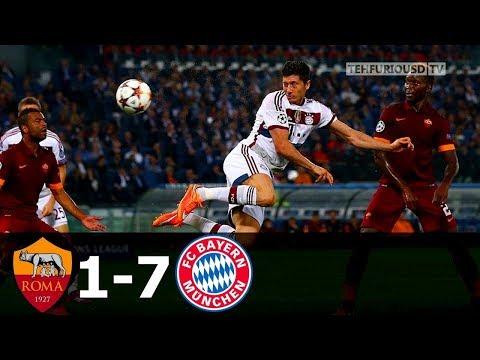 Bayern München 7-1 Roma   21/10/2014