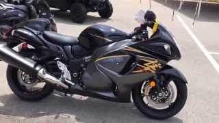 4. 2015 Suzuki Hayabusa GSX1300R in Black @ Suzuki of Knoxville