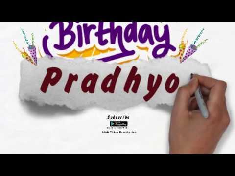 Happy birthday messages - Happy Birthday Pradhyot