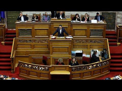 Σύγκρουση κορυφής στη Βουλή πριν την ψηφοφορία