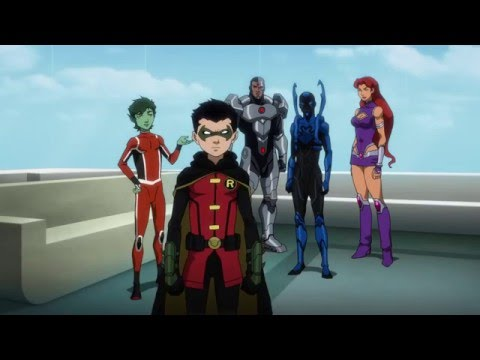 Descarga Justice League vs  Teen Titans