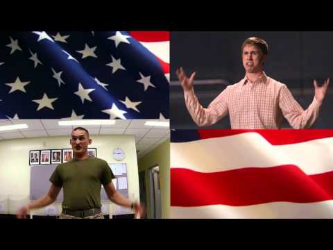 Pitch Perfect Audition Scene Military Parody Side By Side