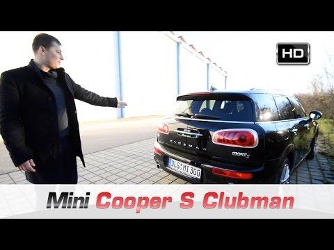 Тест Драйв Mini Cooper S Clubman 2016 (видео)