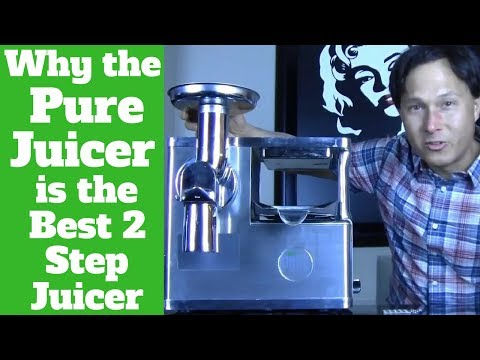 Why the Pure Juicer is the Best 2 Step Juice Machine for Therapy