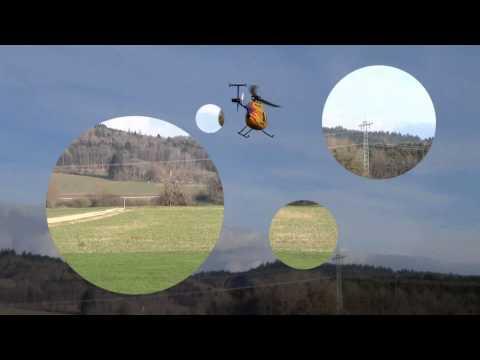 видео: Радиоуправляемый вертолет Nine Eagles Solo Pro 127 2.4Ghz