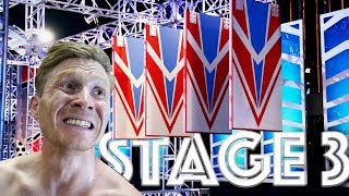 How difficult is STAGE 3 in NINJA WARRIOR #164 by Magnus Midtbø