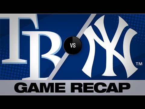Video: d'Arnaud's 3-homer game leads Rays | Rays-Yankees Game Highlights 7/15/19