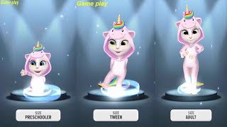 Video My Talking Angela  LEVEL 733 Vs LEVEL742 Vs LEVEL 762  Gameplay HD MP3, 3GP, MP4, WEBM, AVI, FLV Desember 2018