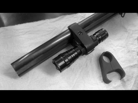 Крепление для фонарика на ружье своими руками