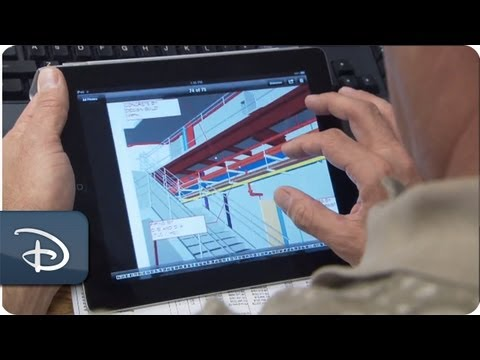 Imagineering - In the video, Walt Disney Imagineering takes you onto the construction site to learn more about new innovative technology the Imagineers are using to build t...