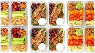 Low Carb Meal Prep Recipes | Back to School + Healthy + Quick + Easy by The Domestic Geek